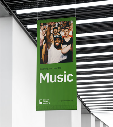 Green Door Events Branding