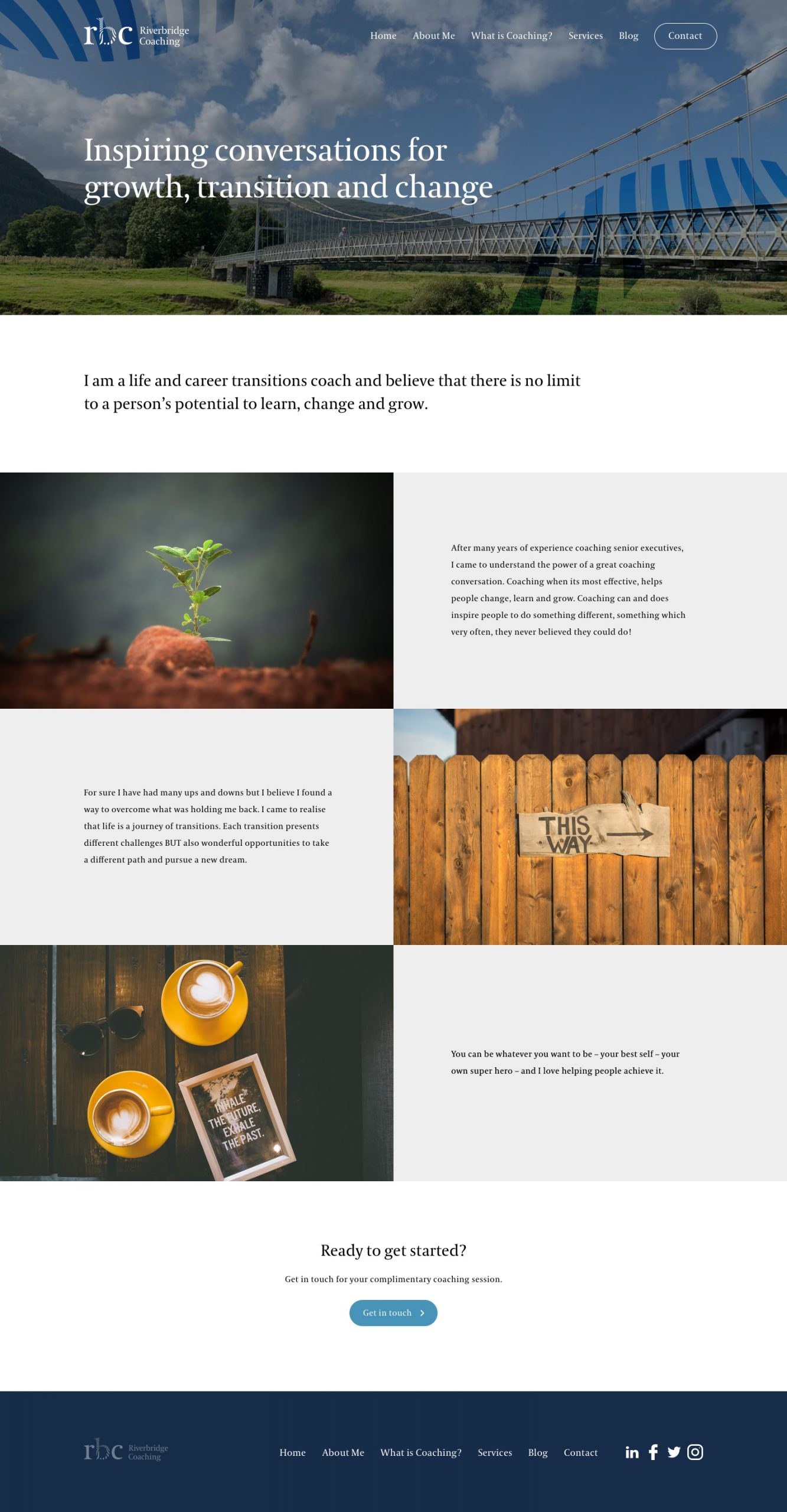 Design and branding for start-up company